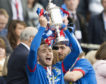 Nick Ross left Caley Thistle after winning the Scottish Cup in 2015.
