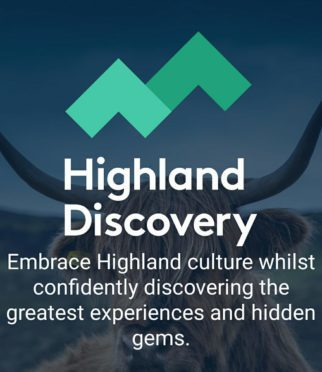 The Highland Discovery app was put together with work by primary and secondary school children as well as students of Napier University.