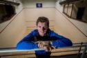 Highland squash star Greg Lobban. Picture: Craig Watson.