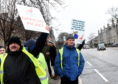 First bus drivers will take further industrial action