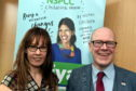 Kevin Stewart, MSP, paid a visit to the Childline base in Aberdeen earlier this year.