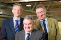 Grant Rogerson, Alan Hutcheon and Pete Watson from ANM Group