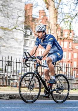 Undated handout photo issued by Muckle Media of Scot Mark Beaumont, as the ultra-endurance cyclist has set off on his attempt to reclaim the world record for circumnavigating the globe. PRESS ASSOCIATION Photo. Issue date: Sunday July 2, 2017. The adventurer is aiming to cycle round the world in 80 days - less than half the time he took to complete the route more than nine years ago. See PA story ADVENTURE Cyclist. Photo credit should read: Artemis World Cycle/PA Wire  NOTE TO EDITORS: This handout photo may only be used in for editorial reporting purposes for the contemporaneous illustration of events, things or the people in the image or facts mentioned in the caption. Reuse of the picture may require further permission from the copyright holder.