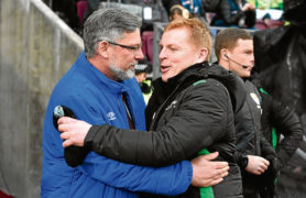 Neil Lennon sidesteps debate with Hearts manager Craig Levein