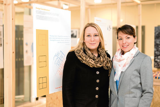 Claire Fleming, Business Support Director, Return To Scene Ltd.  & Dr Marianthi Leon, Lecturer on Project and Construction Management, Scott Sutherland School of Architecture and the Built Environment