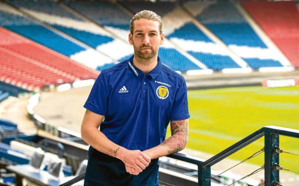 Scotland defender Charlie Mulgrew.