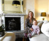 Jennifer Heiton and her daughter Stephanie inside 10 Marine Terrace, Aberdeen