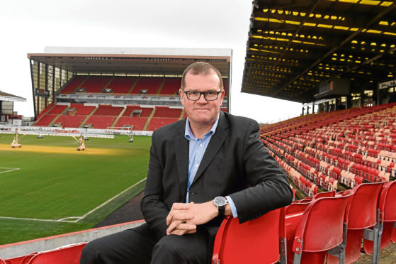 New Aberdeen FC commercial director Rob Wickes.  Picture by KENNY ELRICK     29/03/2018