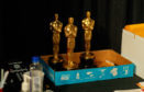 HOLLYWOOD, CA - MARCH 03:  Oscar props backstage during rehersals for the 90th Oscars at The Dolby Theatre on March 3, 2018 in Hollywood, California.  (Photo by Christopher Polk/Getty Images)
