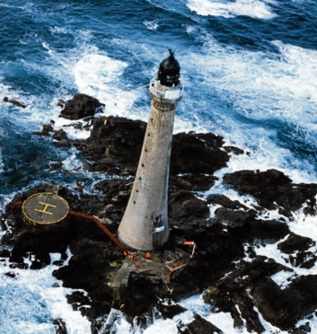 Bill Gault's spent five years at Skerryvore, Scotland's tallest lighthouse