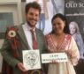 Iain Macgillivray who is the new Clan Chief with Outlander authir Diana Gabadon.
