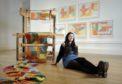 Rhona Grant has won a three-month artist residency at Glenfiddich Distillery.