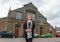 Buckie councillor Sonya Warren outside the town's Fisherman's Hall