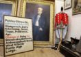 A Glasgow Central Station destination board and a painting of former Aberdeen Lord Provost Sir David Stewart are among the items to be auctioned off.