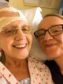 Madge Brand with daughter Fiona Watt, after her brain tumour operation.