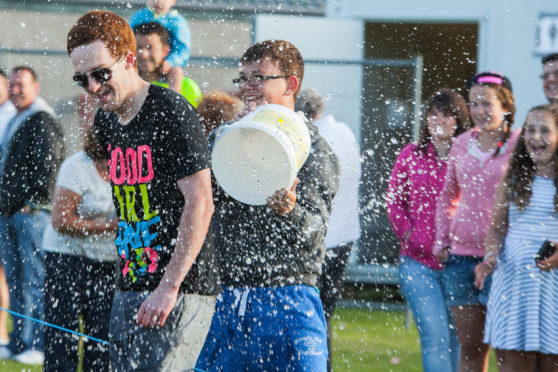 Thrills and spills at Invercairn Gala.