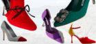 Harris Tweed used on shoes by Manolo Blahnik.