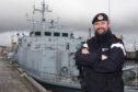 HMS Penzance Lieutenant Commander Lee Vessey
