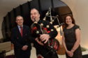 Maggie's Centre Aberdeen - Cheque presentation to Maggie's and a celebration after a successful dinner dance event was held in Inverurie at Thainstone Exchange, with £120,000 being raised for Maggie's Aberdeen.