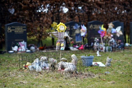 Improvements are to be carried out to the small babies' section at Hazlehead Cemetery.