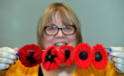 Nancy Duncan of Peterhead is appealing for volunteers to help with knitting 10,000 poppies for a display to commemorate the centenary of the end of the First World War