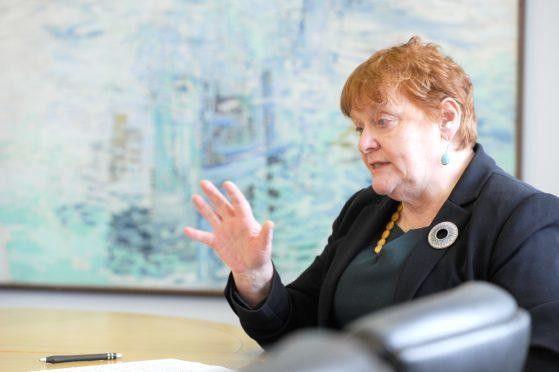 Council Leader, Councillor Margaret Davidson