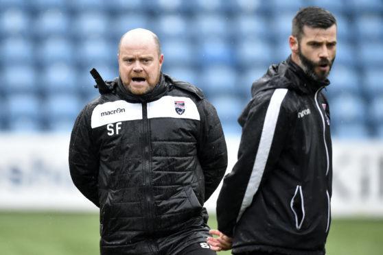 Ross County co-managers Stuart Kettlewell (right) and Steven Ferguson