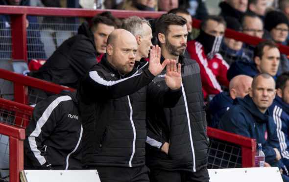Ross County's co-manager Steven Ferguson