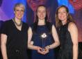 Steph McGovern, Judith Mair and Semta CEO Ann Watson