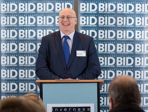 BID chairman Peter Strachan.