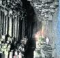 Fingal's Cave, on the Isle of Staffa.