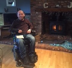Neal Jackson worked as a senior corrosion engineer in Aberdeen until he developed a spinal cord condition.