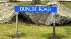 Dunlin Road in Cove.