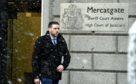 Darren Riley outside Aberdeen High Court.
