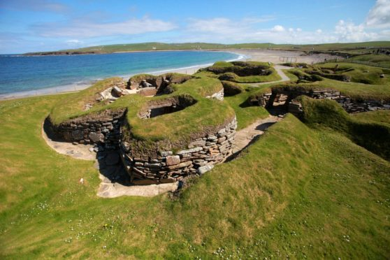 Skara Brae is one of the many magical places on Orkney.