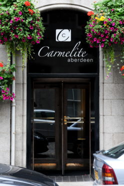 Pictured is the Carmelite Hotel located on Stirling Street. 23/08/11 Picture by Richard Frew.