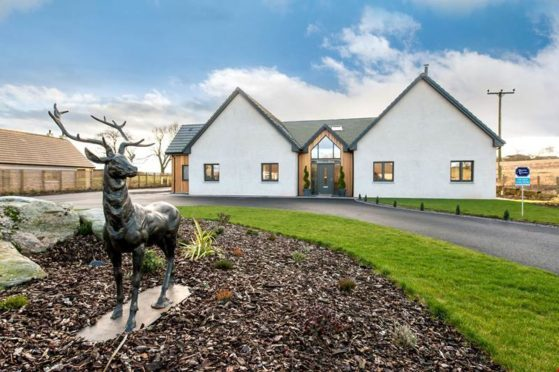 Bandrum House is on the market at £675,000