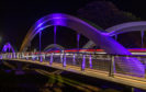 The lights of the iconic bridge were stolen between  March 15 and April 5