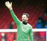 Aberdeen's Joe Lewis at full-time.