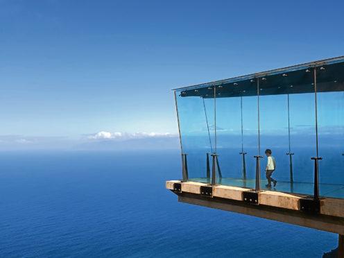 Mirador de Abrante on the island of La Gomera provides staggering views