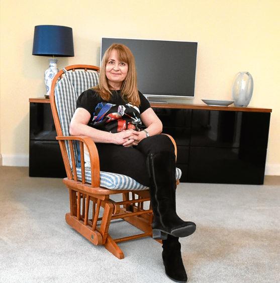 Linda Masson at her home in Oakhill Grange