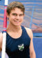 Picture by SANDY McCOOK  31st March '17  The polevaulting    McFarlane family of Inverenss who are trying to find an indoor location for their polevault mat. Daniel McFarlane. The family currently have the mat on their pation but because of space constraints cannot use it there.