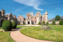 Abbotsford House, the ancestral home of Sir Walter Scott