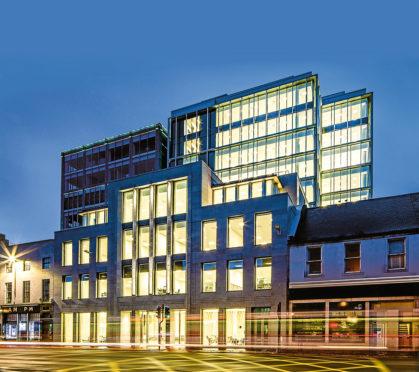 The Silver Finn building in Aberdeen **Please add details