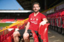 Friday 20th April 2018, Aberdeen, Scotland - Aberdeen Football Club press conference ahead of the Ladbrokes SPFL Premiership on Saturday against Kilmarnock FC at Rugby Park.  Pictured: Aberdeen Captain Graeme Shinnie   (Photo: Ross Johnston/Newsline Media)