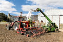 Farmers are late with sowing due to poor weather in recent weeks.