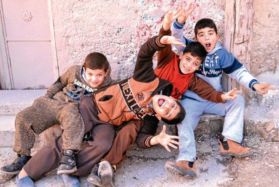 Children in Dheisheh camp