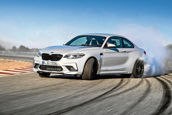 Holy smokes! M2 Competition makes some noise | Press and Journal