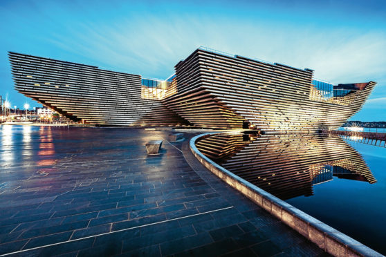 V&A Dundee, which opens on September 15.