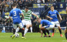 15/04/18 WILLIAM HILL SCOTTISH CUP SEMI-FINAL  CELTIC v RANGERS  HAMPDEN PARK - GLASGOW   Celtic's Tom Rogic opens the scoring to make it 1-0.